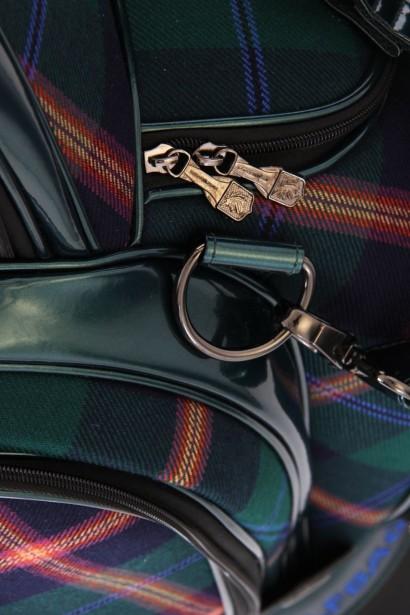 Tartan Golf Bags – detail
