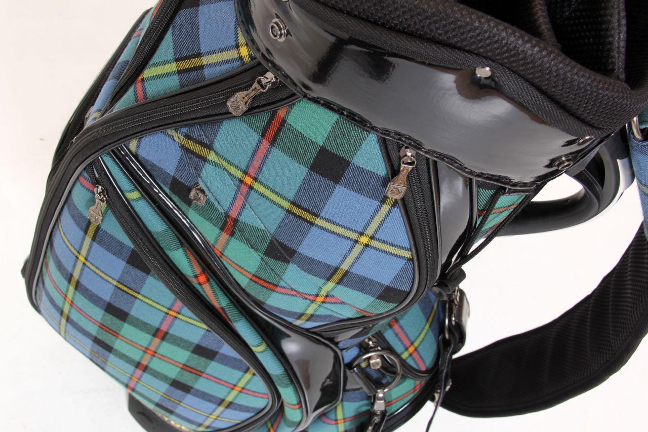 tartan golf bags